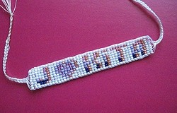 Браслет с именем из бисера, схема плетения: пошаговая инструкция, полезные советы