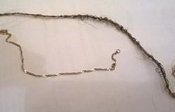 Как очистить золотую цепочку от волос? Как снять цепочку без вреда для волос?