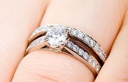 Правила ношения помолвочного и обручального кольца