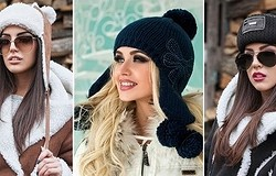 Как одевать шапку правильно? Добавляем в образ шапку-носок, бини, ушанку, шляпу. Сочетаем шапку с чёлкой.