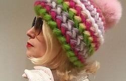 Объемная шапка крючком: своими руками, на зиму, для женщин
