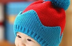 Шапка для мальчика спицами: шапка для подростка с полосами