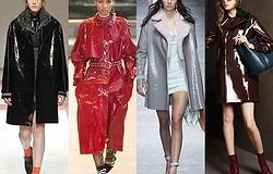 Винил — модный тренд: как сочетать гардероб с виниловой одеждой