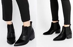 С чем носить женские ботинки челси: варианты для обуви на каблуке и без него