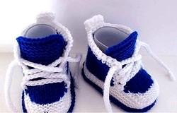 Пинетки кроссовки спицами: Модель пинеток кроссовок для новичка