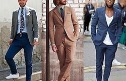 С чем носить белые мужские кроссовки? Комбинируем белые кроссовки с различной мужской одеждой.