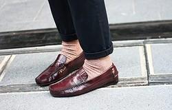 Кто носит носки под мокасины