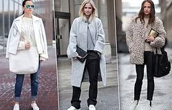 С чем носить белую обувь летом, зимой, в демисезонье? Особенности комбинирования белой обуви с одеждой.
