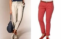 Что такое брюки-чиносы женские