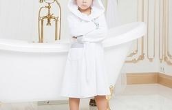 Выкройка халата с капюшоном для мальчика