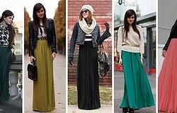 Какую кофту одеть с длинной юбкой (юбкой в пол)