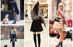 Как называются длинные носки? Какие бывают модели? Какая обувь и одежда сочетаются с длинными носками?
