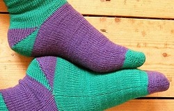 Мысок носка спицами: 5 способов с описанием для начинающих