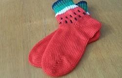 Носки на вязальной машине: как вязать носки на однофонтурной вязальной машине