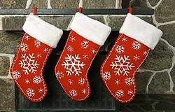 Новогодний носок для подарков своими руками: как сделать и украсить