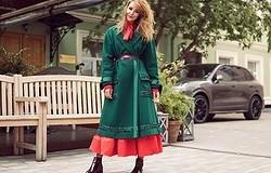 Пальто на платье: что может быть длиннее, варианты сочетаний