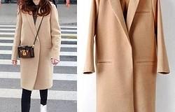 С чем носить бежевое пальто:халат, классическое до колена, оверсайз