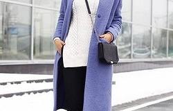Фиолетовое пальто: с чем его носить, каких оттенков бывает и как это всё сочетать