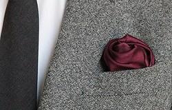 Как сложить платок в карман пиджака: красивые техники и способы складывания