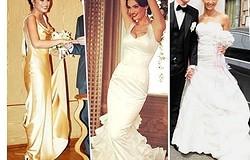 10 лучших свадебных платьев звезд «Дома-2»