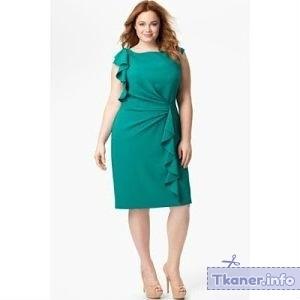 Платье для полных футляр