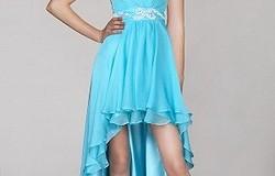 Как называется платье спереди короткое сзади длинное:модели ассиметричных платьев
