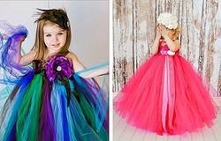 Как сшить пышное платье для девочки своими руками? Шьём лиф. 4 варианта создания юбки. Примеры платьев.