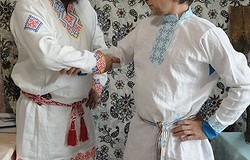Как украинцы относятся к вышиванкам, а русские к косовороткам