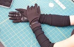 Выкройка перчаток из трикотажа: как построить выкройку и сшить