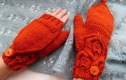 Перчатки-трансформеры спицами: как связать перчатки-трансформеры спицами?