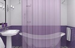 Как стирать занавески в ванной - вручную и в стиральной машине