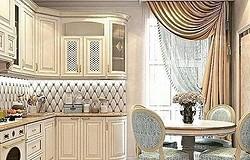 Варианты оформления кухонного окна: модные шторы и тюль
