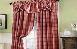 Как пошить шторы из бязи своими руками - шьем шторы на кухню