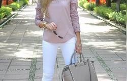 Что надеть с женскими белыми джинсами: как правильно выбрать белые джинсы по фигуре?