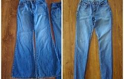 Как заузить джинсы снизу в домашних условиях — инструкция (снизу, талию)