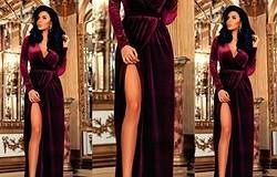 Красивые фасоны платьев из вельвета: фото платьев из вельвета
