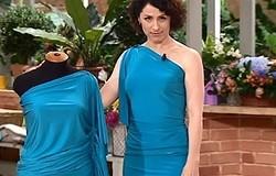 Как сшить платье из вискозы своими руками
